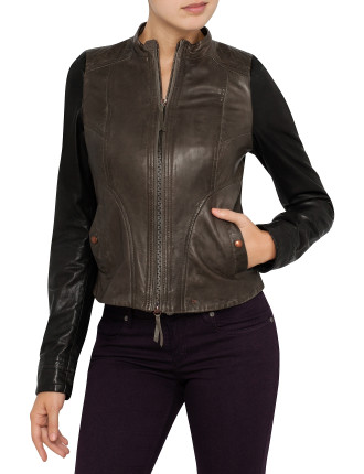 Janassa Leather Jacket