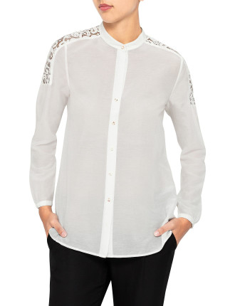 Creele Embrodiered Blouse