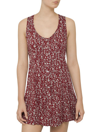 Delicate Blossom Mini Dress