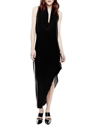 Manhattan Cowl Neck Dress