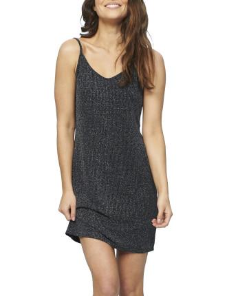 Lurex Slip Dress