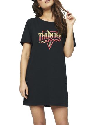 Thunder Tee Shirt Dress