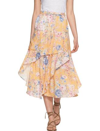 Dahlia Cascade Skirt