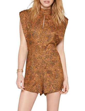 Golden Haze Jumper Playsuit