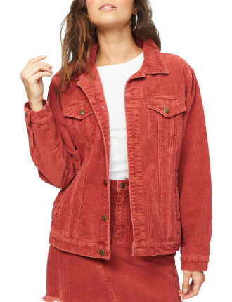 Empire Cord Girlfriend Jacket