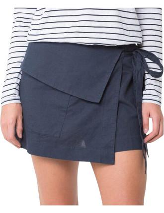 Yoko Linen Skirt