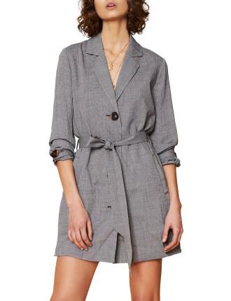 Clover Long Sleeve Mini Dress