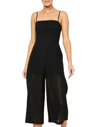 Fifth Avenue Cropped Jumpsuit