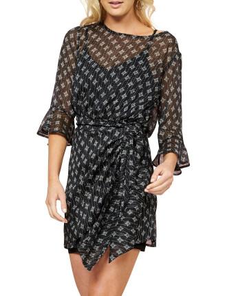 Isabel Tie Front Dress