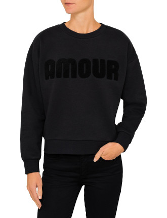 Amour Slogan Sweat