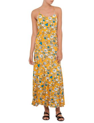 Autumn Breeze Maxi Dress