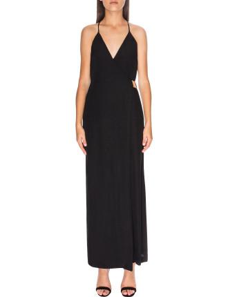 Oasis Maxi Wrap Dress