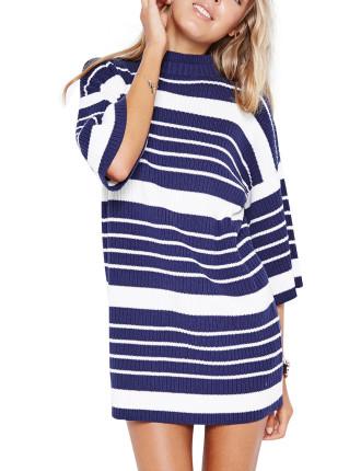 Thick N Thin Stripe Dress