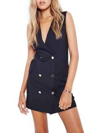 Excess Blazer Dress