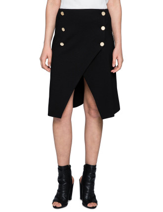 Excess Button Up Skirt