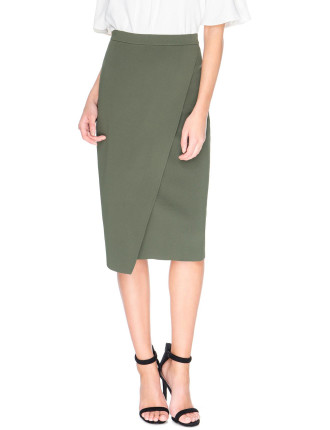 If Only Knit Skirt