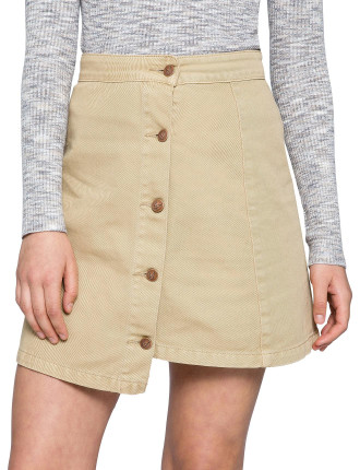 Sandstorm Denim Mini Skirt
