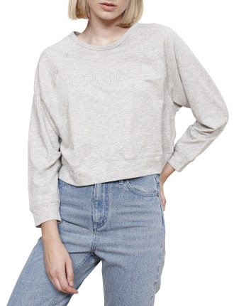Graphic Raglan Sweater