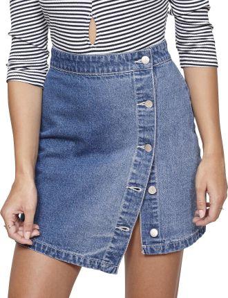 On Point Denim Mini Skirt