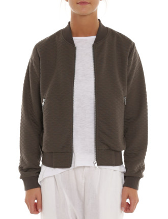 Nixon Quilted Bomber