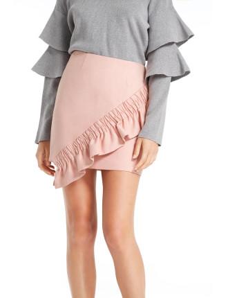 Double Take Mini Skirt