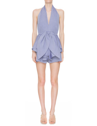 Conquer Shirting Playsuit