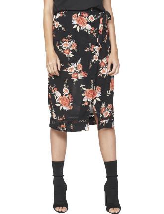 Wallflower Wrap Skirt