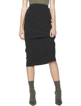 Textured Tube Skirt