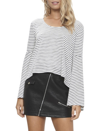 Staycation Flare Sleeve Top