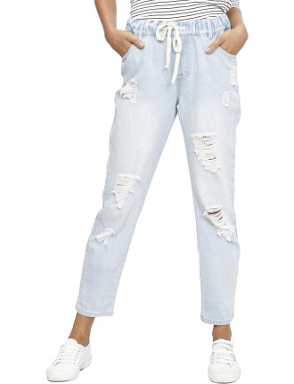 On The Edge Trashed Pant