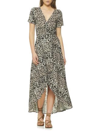 Lilly Wrap Maxi DRESS