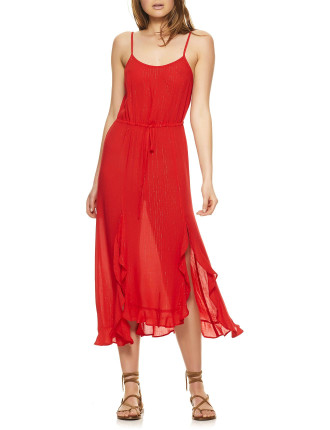 Ella Split Front Day Dress