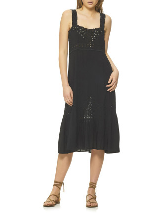 Grace Broderie Day Dress