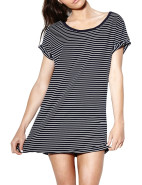 Stripe Tee Dress $54.95