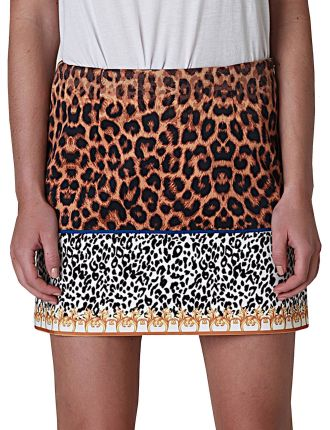 Digital Mini Skirt