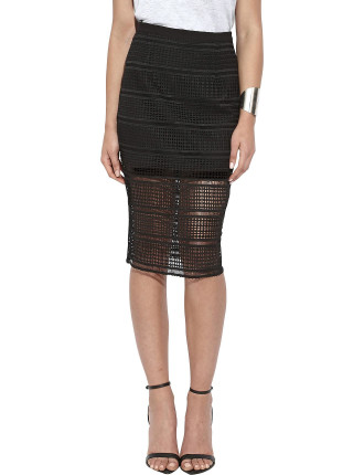 Exceed Pencil Skirt