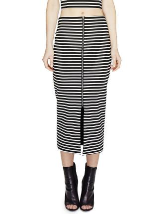 Therese Midi Pencil Skirt