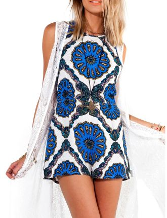 Psychedelia Playsuit