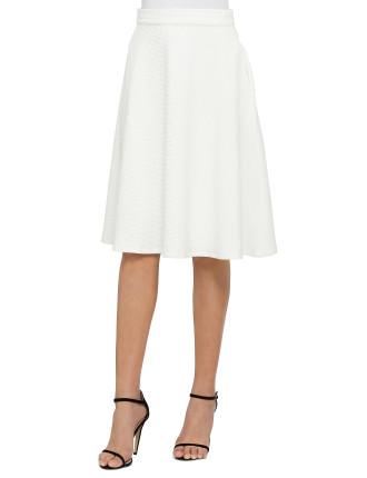 Lucia High Waisted Midi Skirt