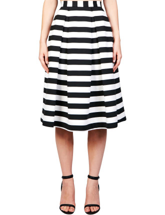 St Tropez Stripe Ball Skirt