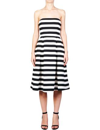 St Tropez Stripe Ball Dress