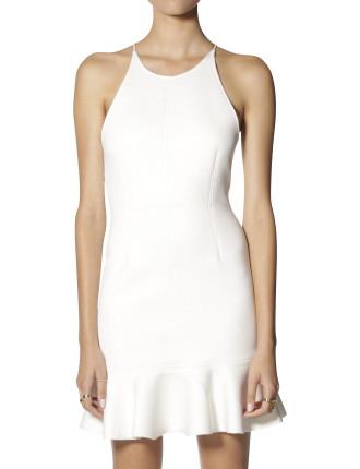 Foam Flare Skirt Dress