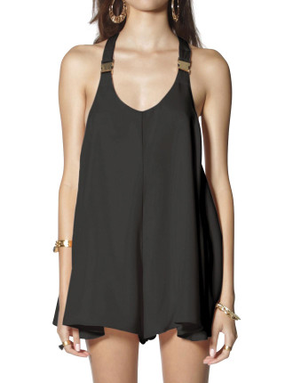 Buckle Strap Playsuit