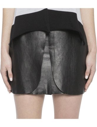Invictus Leather Skirt