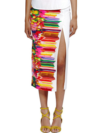 Goddess Split Skirt