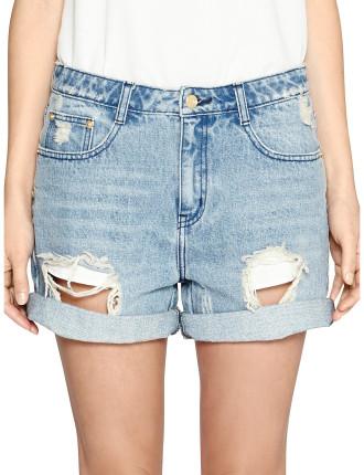 Pompei Denim Shorts