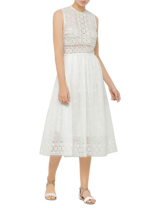 Confetti Embroided Day Dress