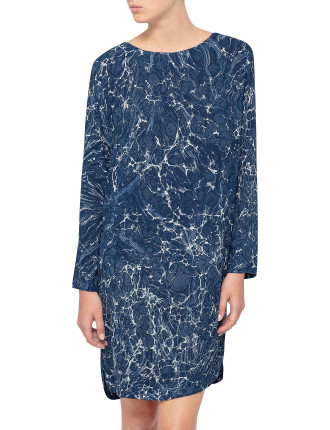 Tarot Marble Shift Dress