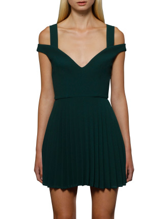 Emerald City Pleat Dress