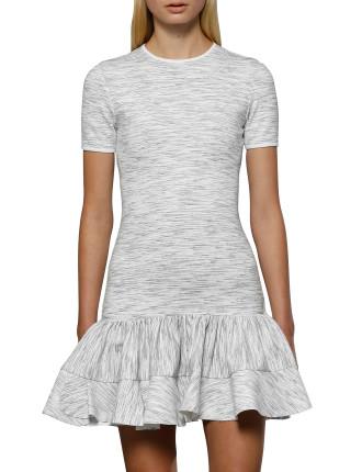 Blurred Lines Frill Mini Dress